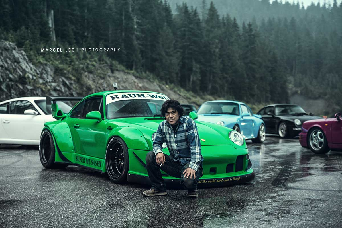 Rwb 993 Porsche Photoshoot By Marcel Lech Autofluence
