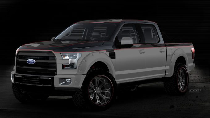 This BMX-themed extreme F-150 lives up to the fast paced sport by offering the strength, speed and handling that can tackle any obstacle – on or off road. Equally amped for drivers and riders alike, the Ford F-150 Lariat SuperCrew is equipped with action sports accessories and gear including Ssquared Bicycles bike frames, Answer BMX bicycle parts, and GoPro action cameras that can capture all the finish-line action.