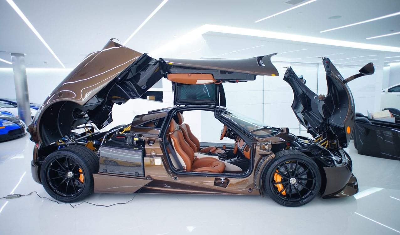 Manny Khoshbin S Pagani Huayra Hermes Edition Exotic Car Owners Club